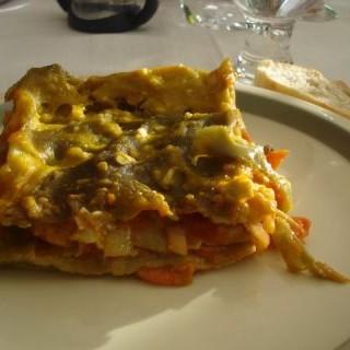 lasaña vegana de verduras casera