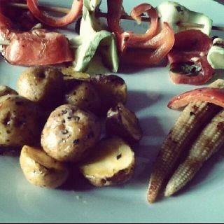 vegetales grillé