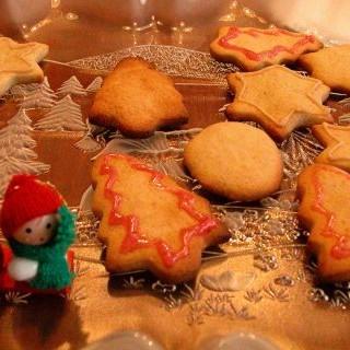 galletas veganas de navidad