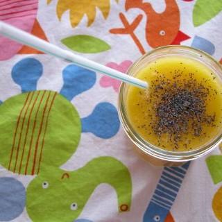 Smoothie de meloloctón y mango