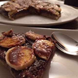 Tarta de Ida y Vuelta (platano y chocolate)
