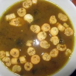 Sopa de miso y wakame