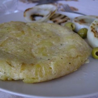 Tortilla de papas con no egg