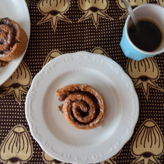 Cinnamon roll (Rollo de canela)