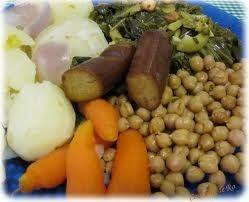Cocido gallego vegano
