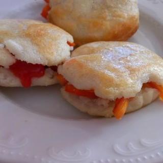 Arepas de zanahoria y pimiento