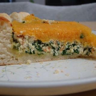 Tarta de Espinaca Ricota y calabaza