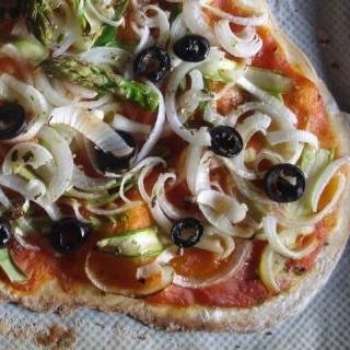Masa de pizza básica casera