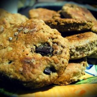 galletitas de avena y chocolate